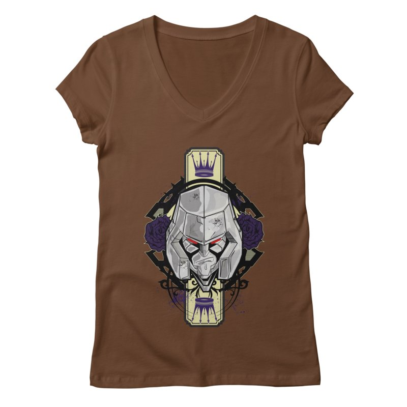 Megs Women's Regular V-Neck by wolly mcnair's Artist Shop