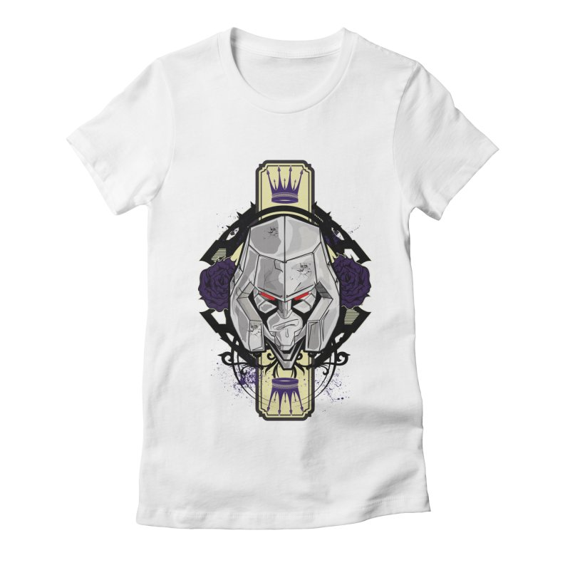 Megs Women's Fitted T-Shirt by wolly mcnair's Artist Shop
