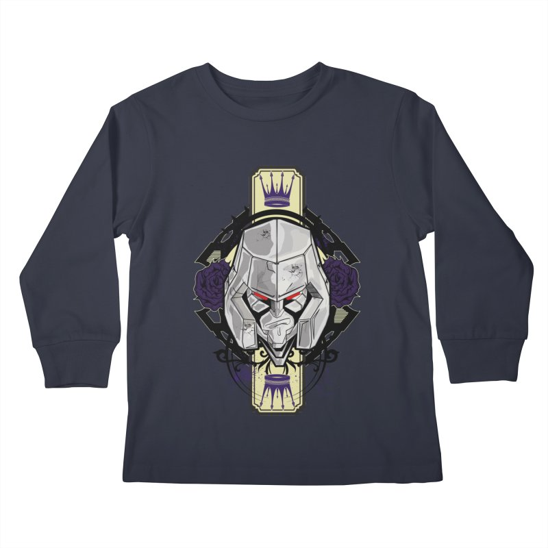 Megs Kids Longsleeve T-Shirt by wolly mcnair's Artist Shop