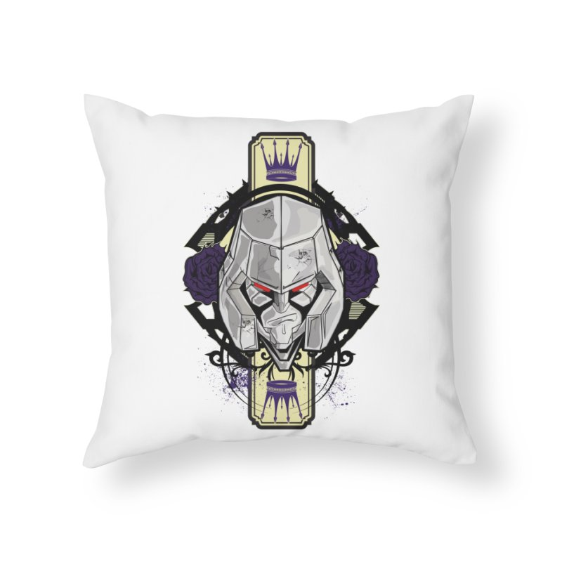 Megs Home Throw Pillow by wolly mcnair's Artist Shop