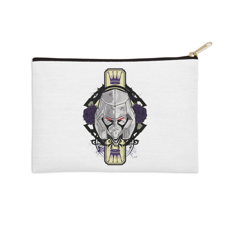 Megs Accessories Zip Pouch by wolly mcnair's Artist Shop