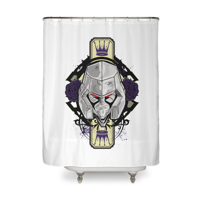 Megs Home Shower Curtain by wolly mcnair's Artist Shop