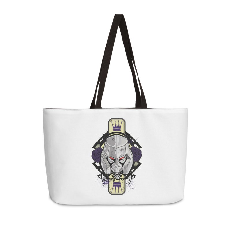 Megs Accessories Weekender Bag Bag by wolly mcnair's Artist Shop