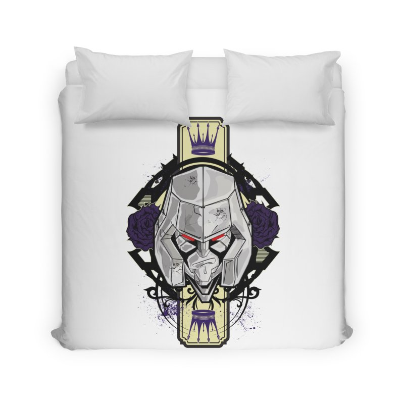 Megs Home Duvet by wolly mcnair's Artist Shop