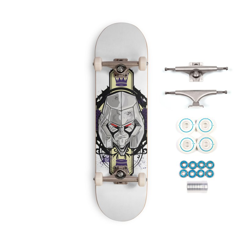 Megs Accessories Skateboard by wolly mcnair's Artist Shop