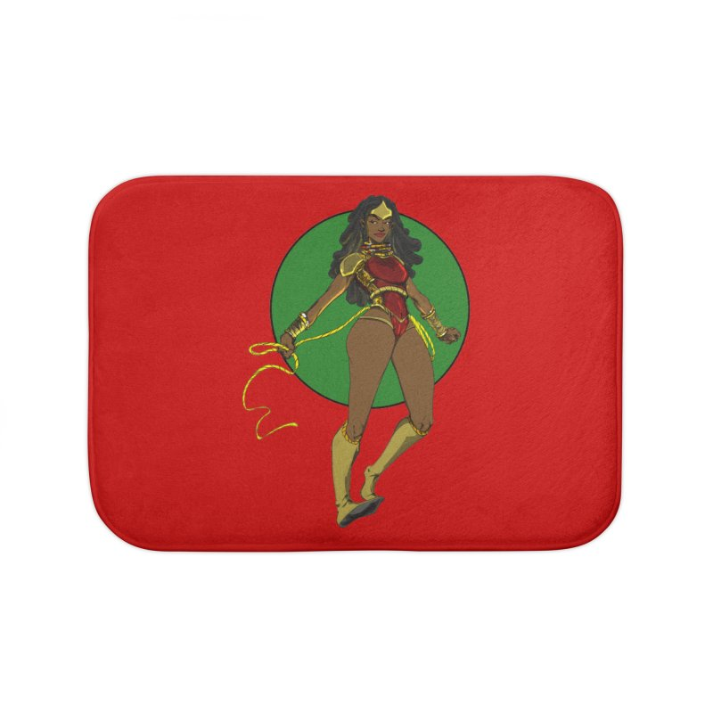 Nubia 2 Home Bath Mat by wolly mcnair's Artist Shop