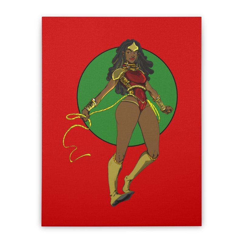 Nubia 2 Home Stretched Canvas by wolly mcnair's Artist Shop