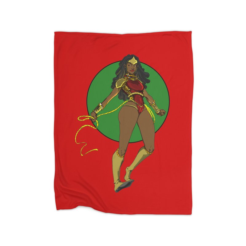Nubia 2 Home Blanket by wolly mcnair's Artist Shop