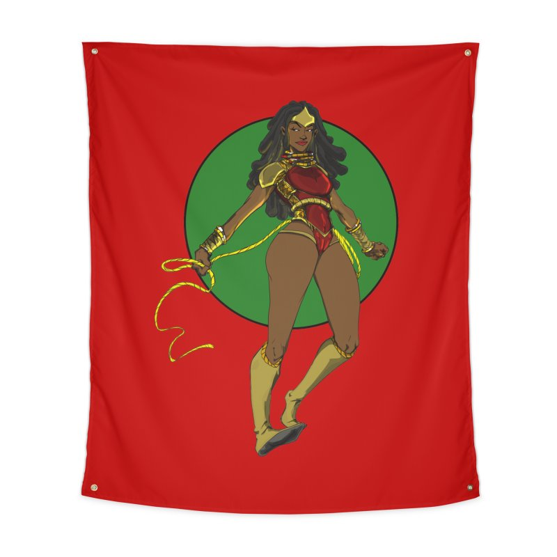 Nubia 2 Home Tapestry by wolly mcnair's Artist Shop