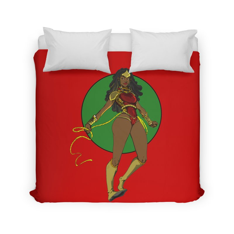 Nubia 2 Home Duvet by wolly mcnair's Artist Shop