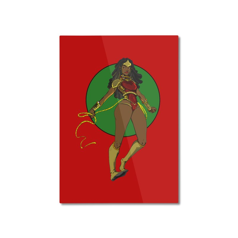 Nubia 2 Home Mounted Aluminum Print by wolly mcnair's Artist Shop