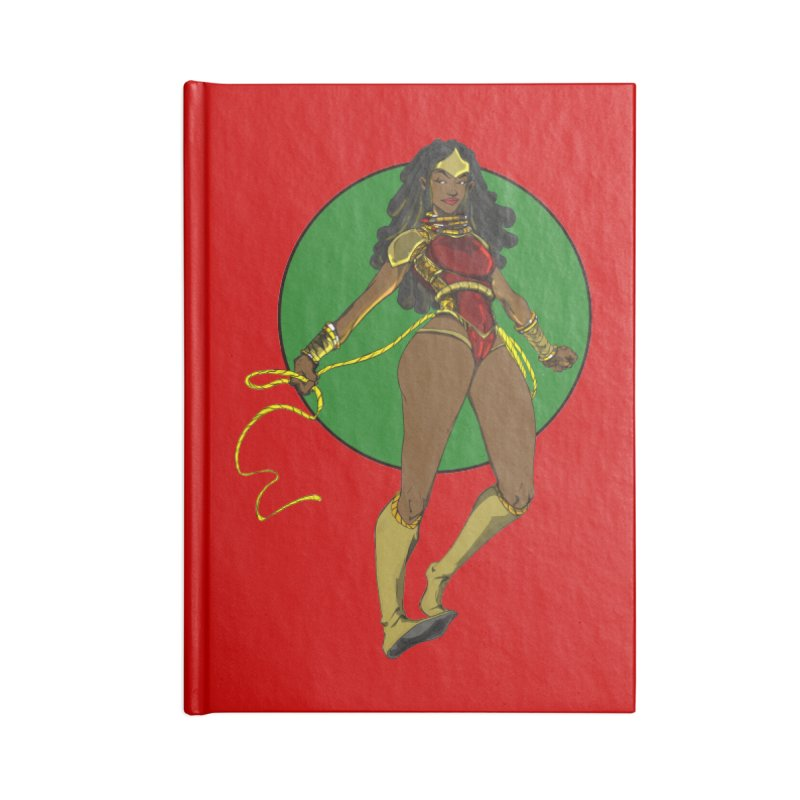 Nubia 2 Accessories Notebook by wolly mcnair's Artist Shop