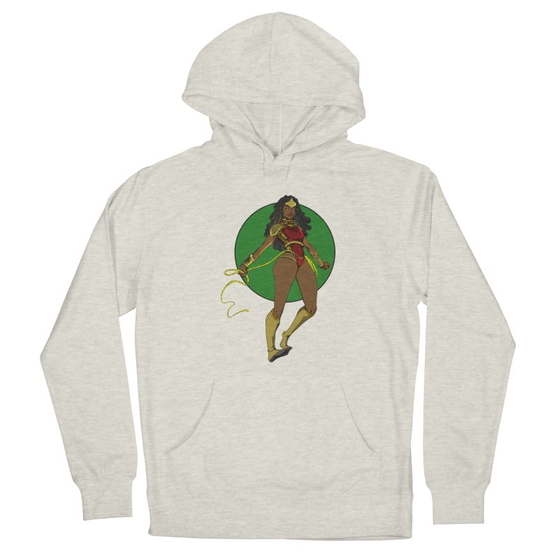 Nubia nu Men's French Terry Pullover Hoody by wolly mcnair's Artist Shop
