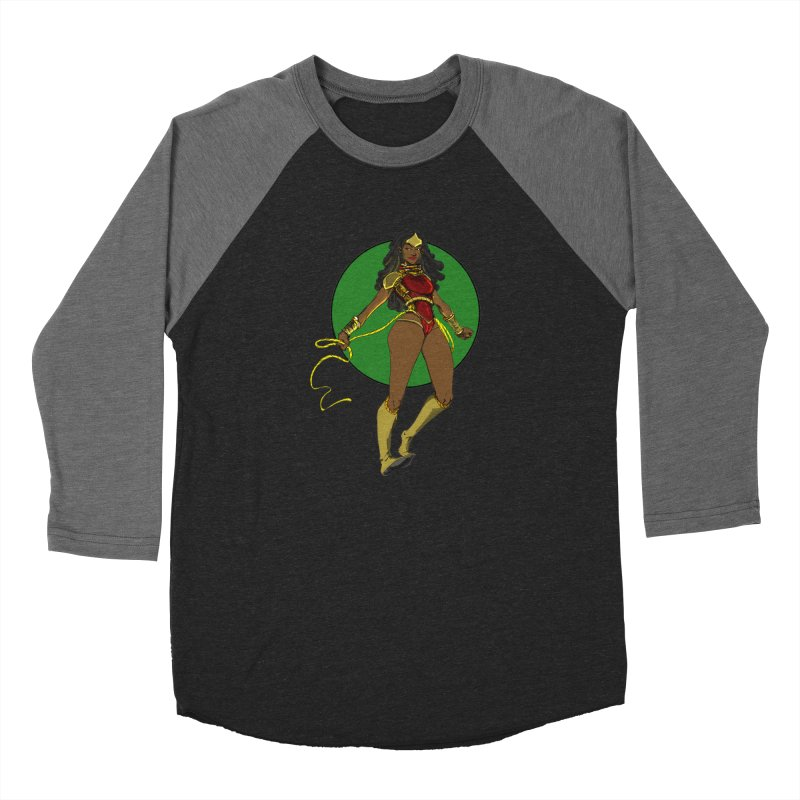 Nubia nu Men's Baseball Triblend Longsleeve T-Shirt by wolly mcnair's Artist Shop