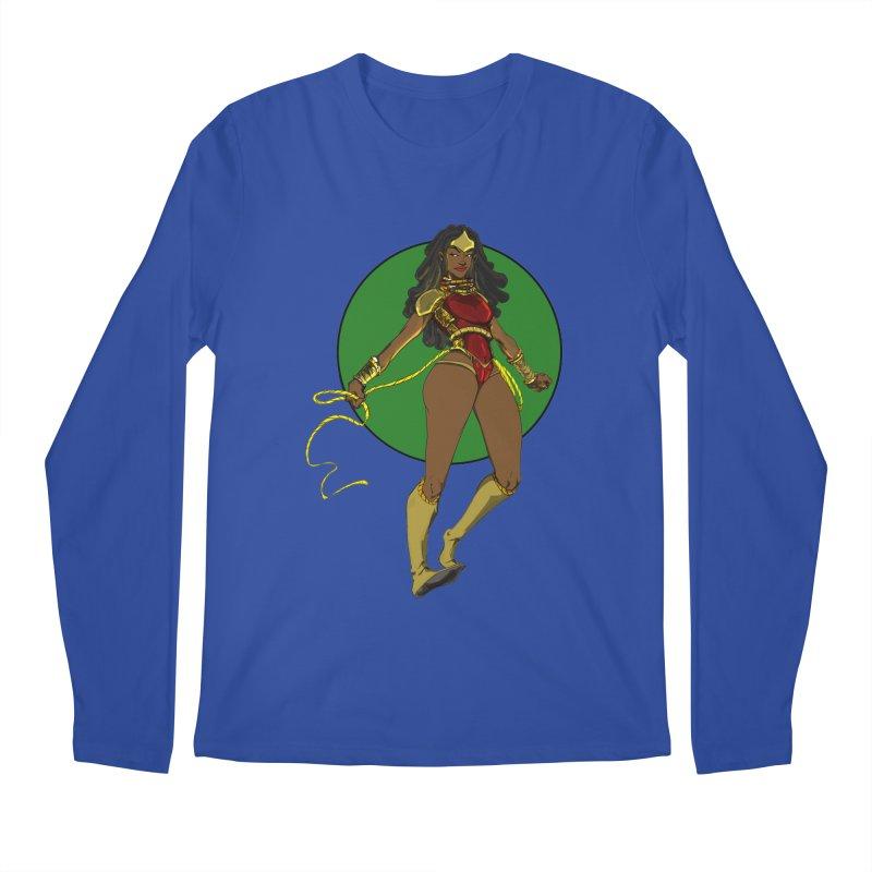 Nubia nu Men's Regular Longsleeve T-Shirt by wolly mcnair's Artist Shop