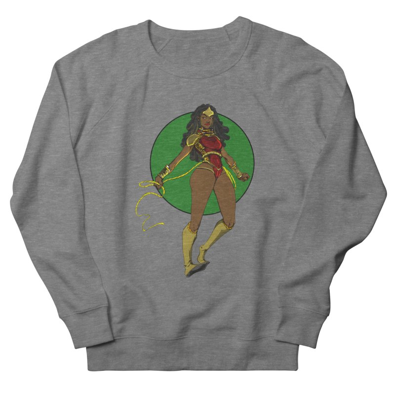 Nubia nu Women's French Terry Sweatshirt by wolly mcnair's Artist Shop