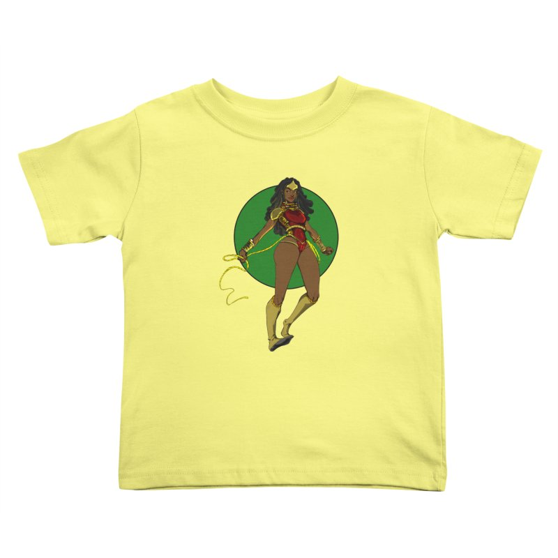 Nubia nu Kids Toddler T-Shirt by wolly mcnair's Artist Shop