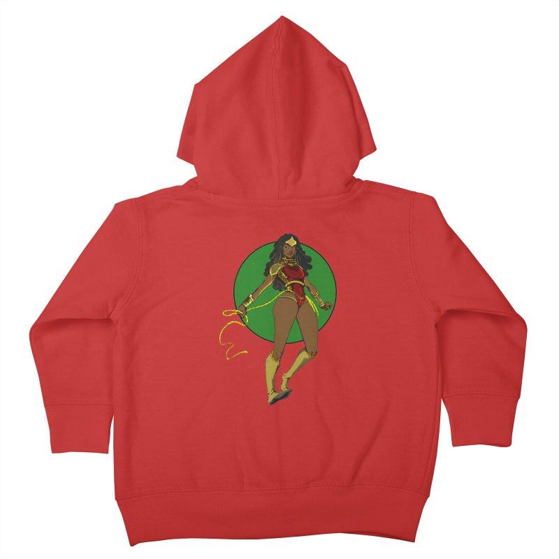 Nubia nu Kids Toddler Zip-Up Hoody by wolly mcnair's Artist Shop
