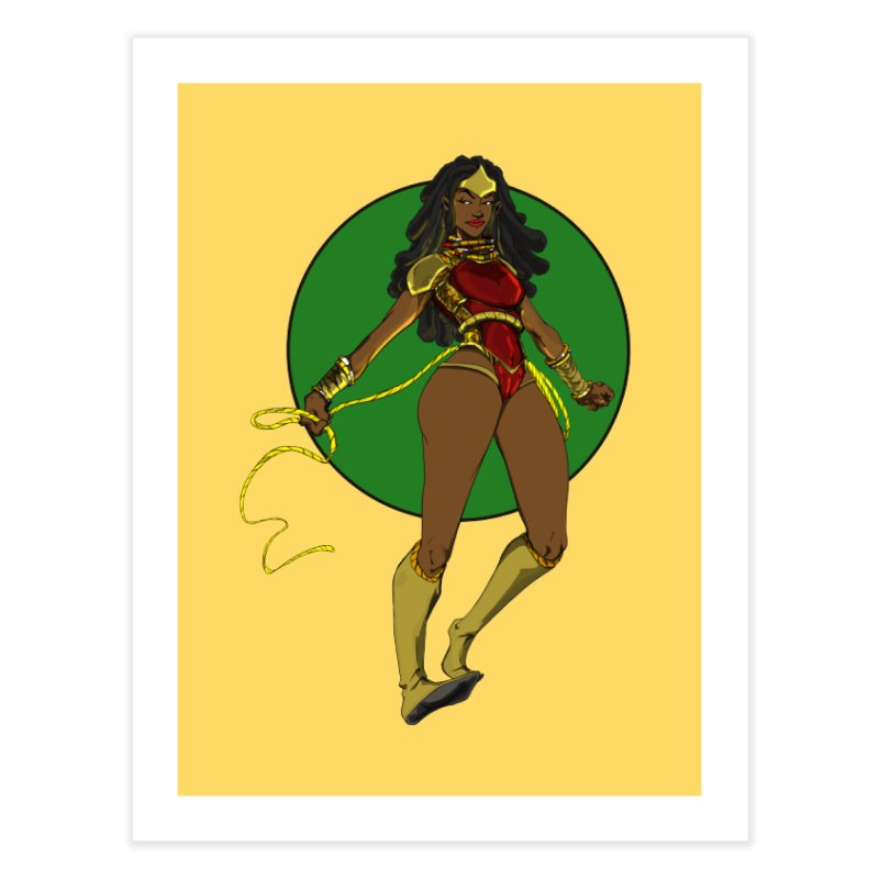 Nubia nu Home Fine Art Print by wolly mcnair's Artist Shop