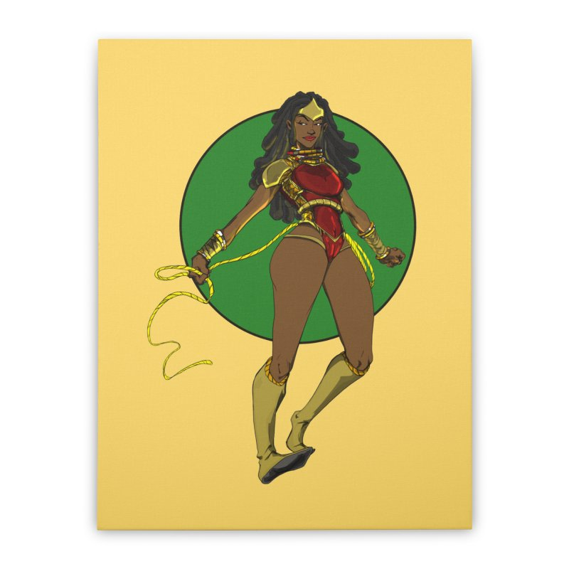 Nubia nu Home Stretched Canvas by wolly mcnair's Artist Shop