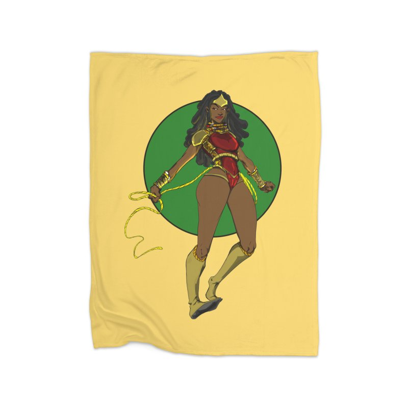 Nubia nu Home Blanket by wolly mcnair's Artist Shop