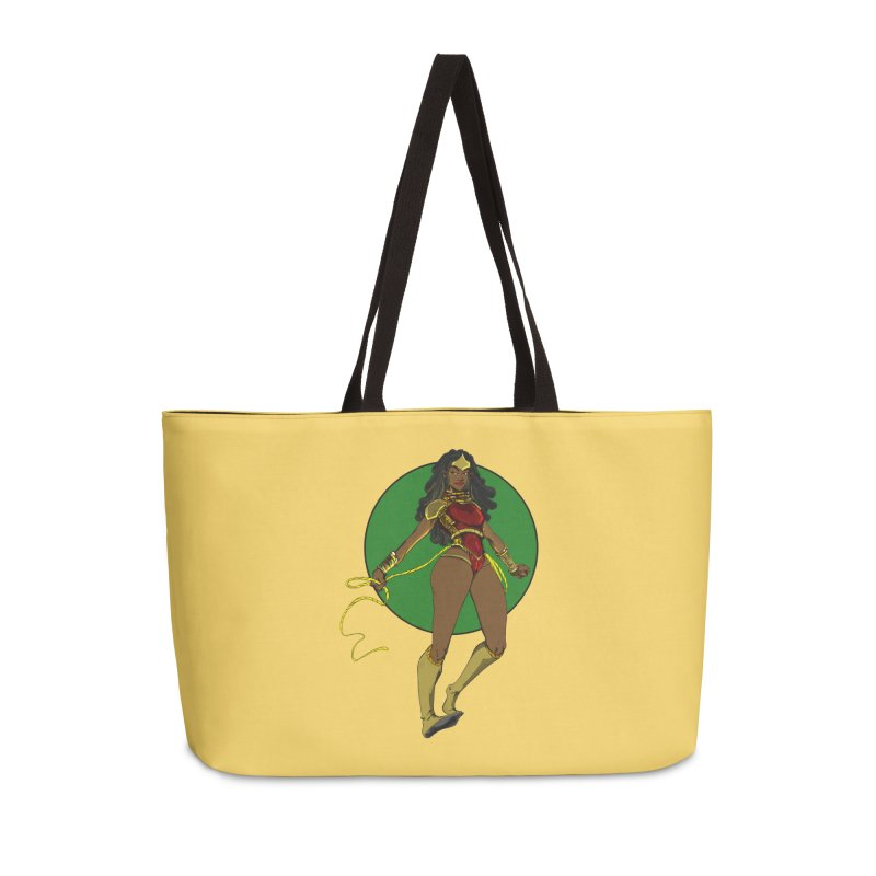 Nubia nu Accessories Weekender Bag Bag by wolly mcnair's Artist Shop