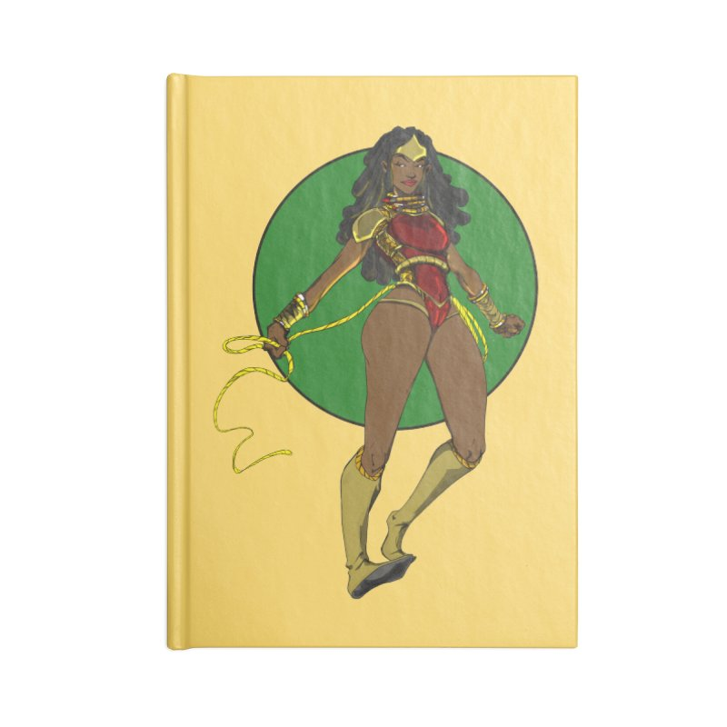Nubia nu Accessories Notebook by wolly mcnair's Artist Shop