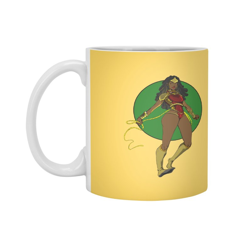 Nubia nu Accessories Mug by wolly mcnair's Artist Shop
