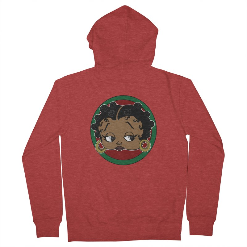 Boogie BOO Women's French Terry Zip-Up Hoody by wolly mcnair's Artist Shop