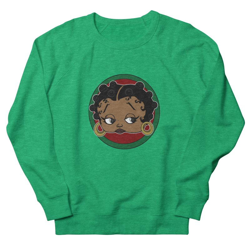 Boogie BOO Women's French Terry Sweatshirt by wolly mcnair's Artist Shop