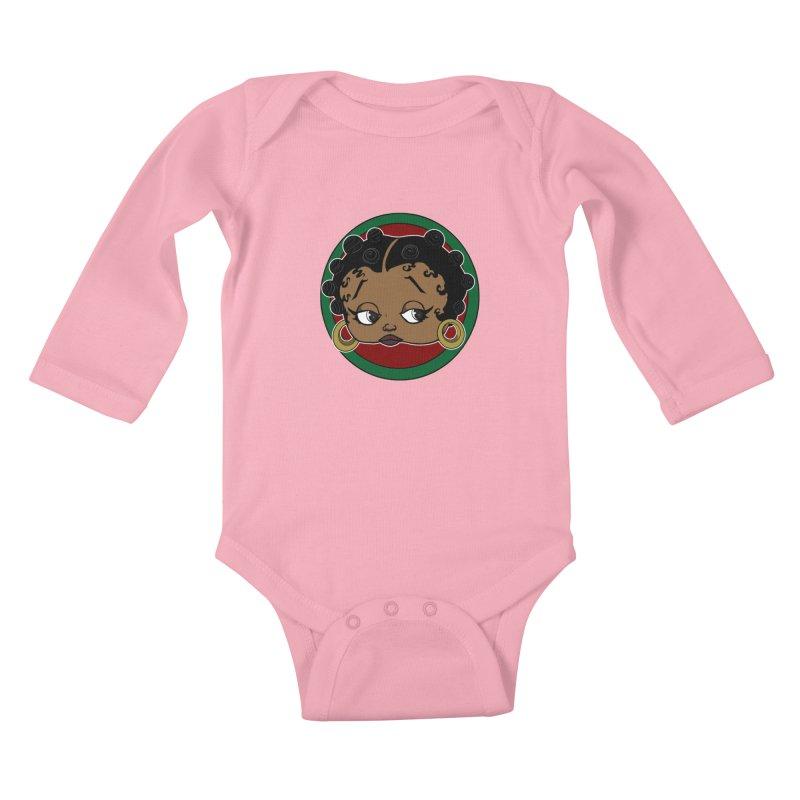 Boogie BOO Kids Baby Longsleeve Bodysuit by wolly mcnair's Artist Shop