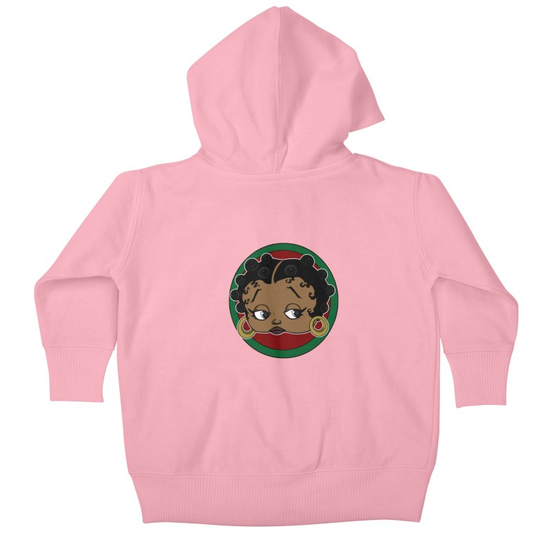 Boogie BOO Kids Baby Zip-Up Hoody by wolly mcnair's Artist Shop