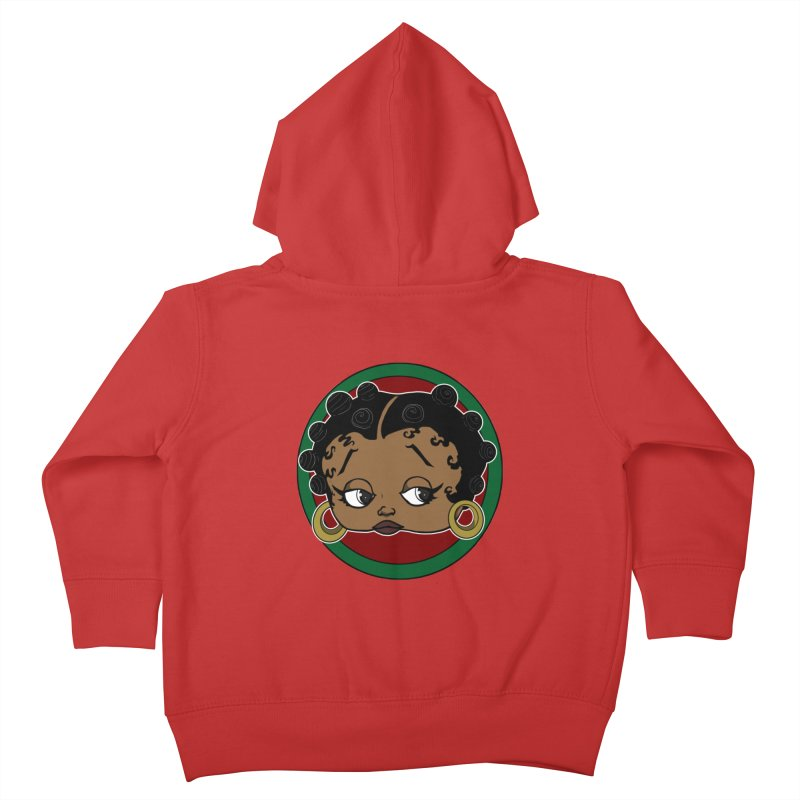 Boogie BOO Kids Toddler Zip-Up Hoody by wolly mcnair's Artist Shop