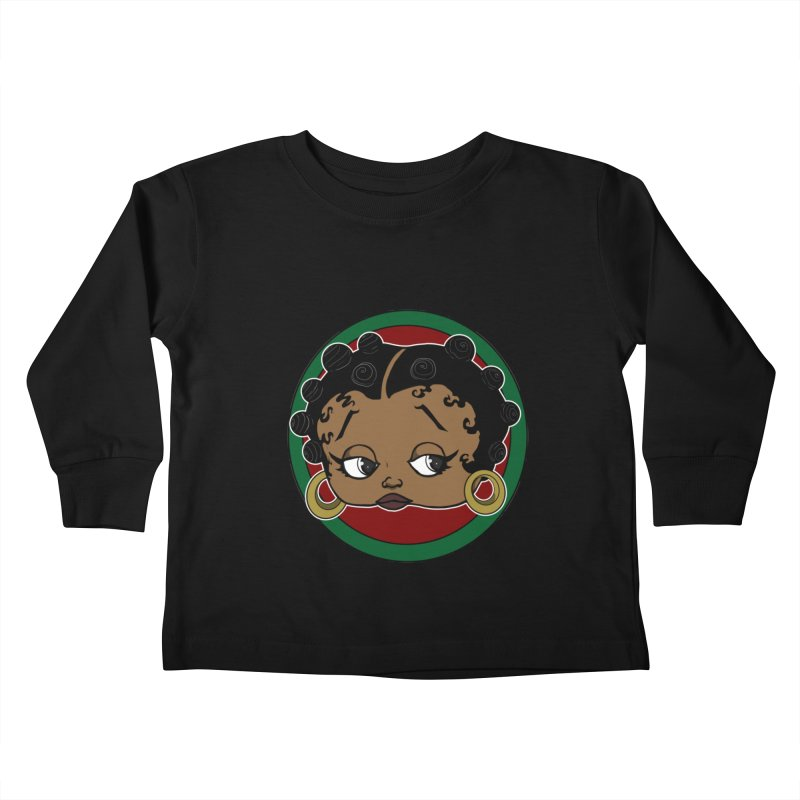 Boogie BOO Kids Toddler Longsleeve T-Shirt by wolly mcnair's Artist Shop