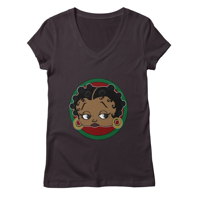 Boogie BOO Women's V-Neck by wolly mcnair's Artist Shop