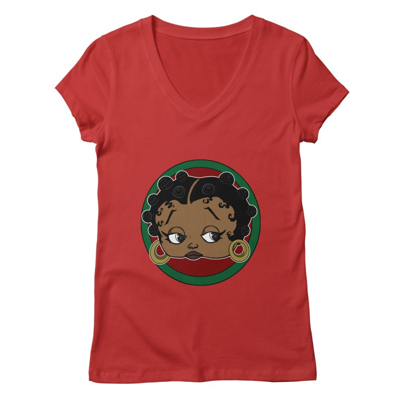 Boogie BOO Women's Regular V-Neck by wolly mcnair's Artist Shop