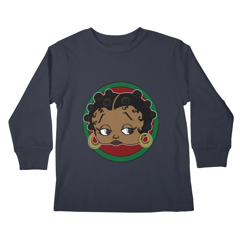 Boogie BOO Kids Longsleeve T-Shirt by wolly mcnair's Artist Shop