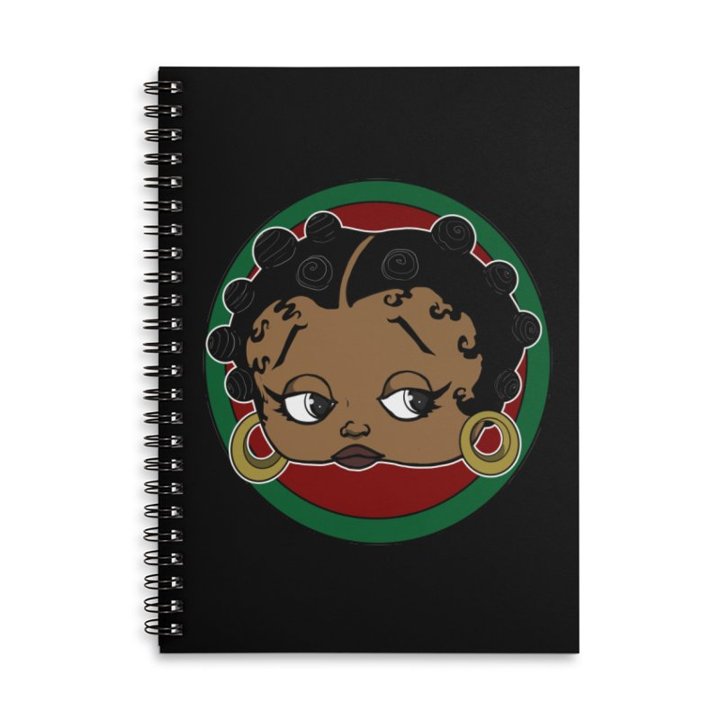 Boogie BOO Accessories Notebook by wolly mcnair's Artist Shop