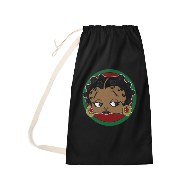 Boogie BOO Accessories Laundry Bag Bag by wolly mcnair's Artist Shop