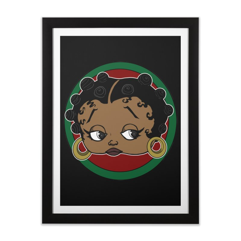 Boogie BOO Home Framed Fine Art Print by wolly mcnair's Artist Shop