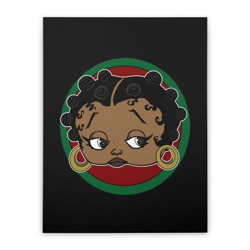Boogie BOO Home Stretched Canvas by wolly mcnair's Artist Shop