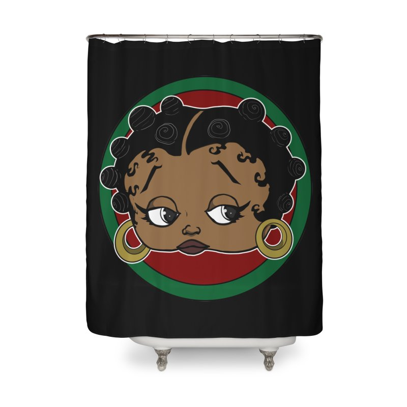 Boogie BOO Home Shower Curtain by wolly mcnair's Artist Shop