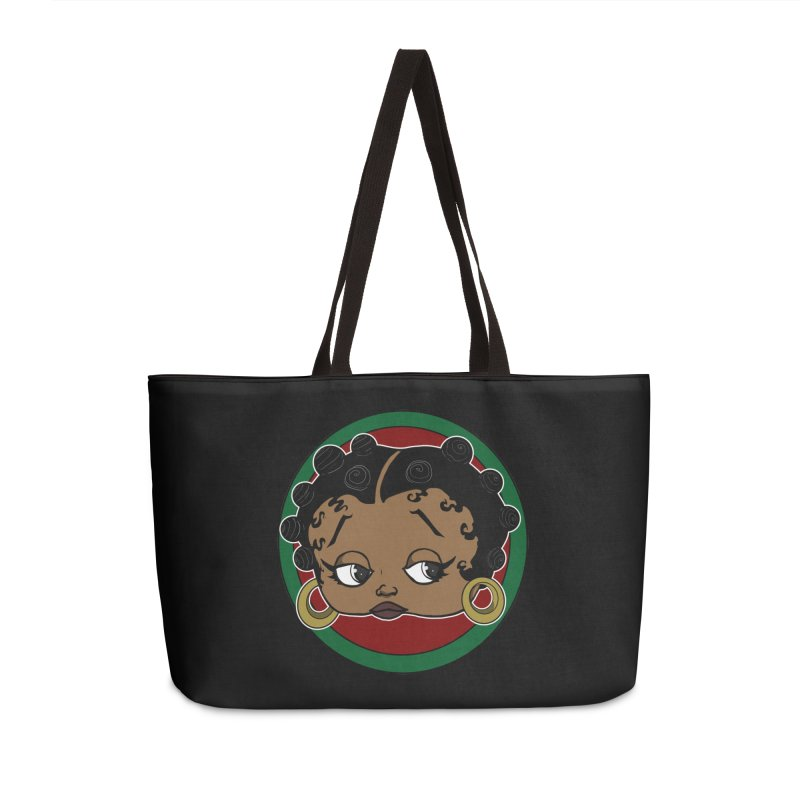 Boogie BOO Accessories Weekender Bag Bag by wolly mcnair's Artist Shop