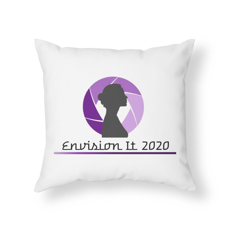 2020 Virtual Conference - White Home Throw Pillow by Women for Sobriety