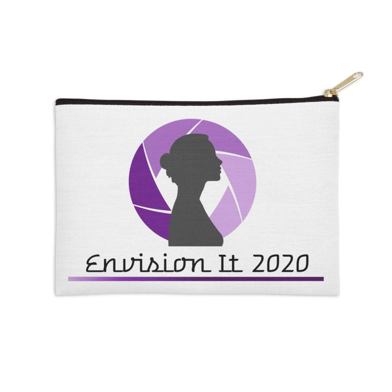 2020 Virtual Conference - White Accessories Zip Pouch by Women for Sobriety