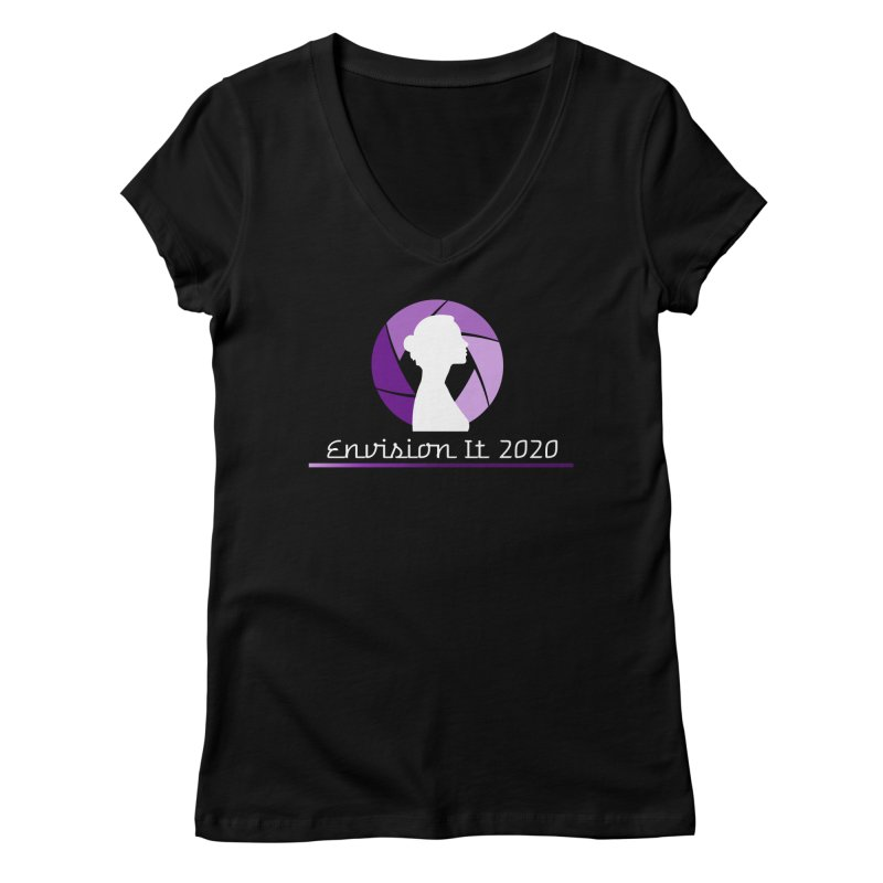 2020 Virtual Conference - Black Women's V-Neck by Women for Sobriety