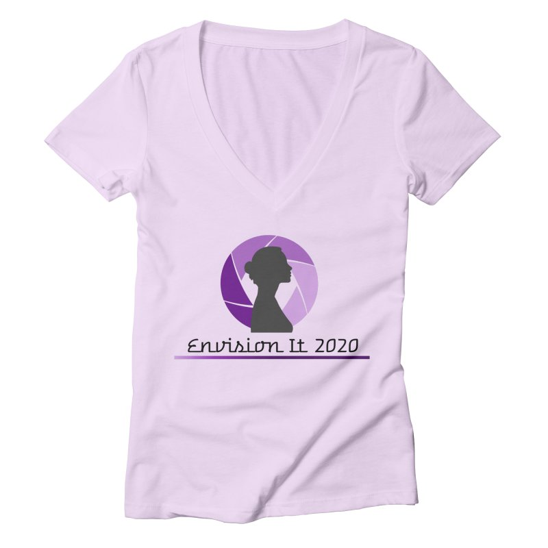 2020 Virtual Conference - Lilac Women's V-Neck by Women for Sobriety