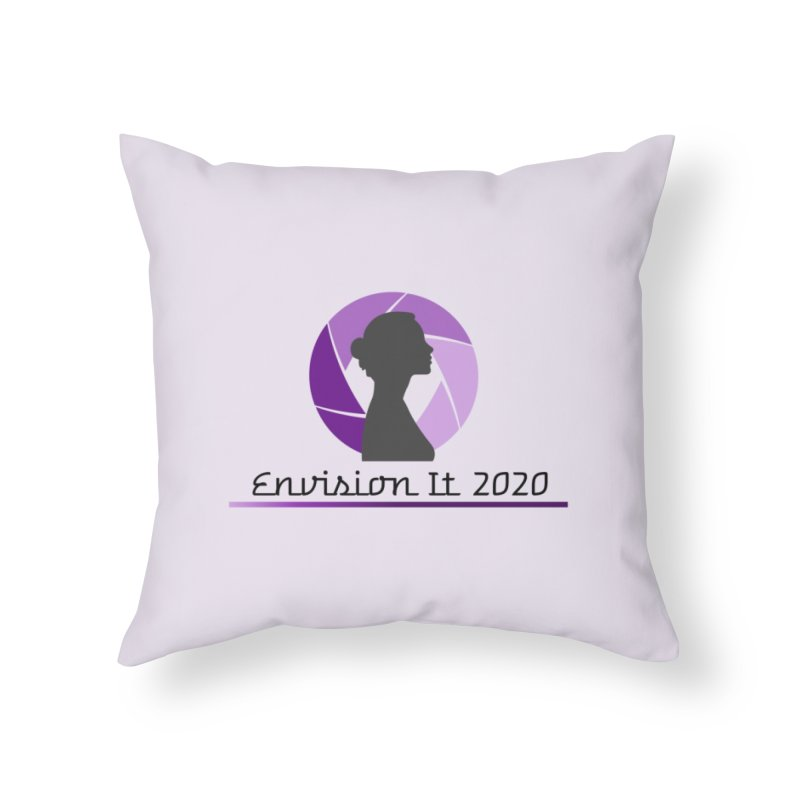 2020 Virtual Conference - Lilac Home Throw Pillow by Women for Sobriety
