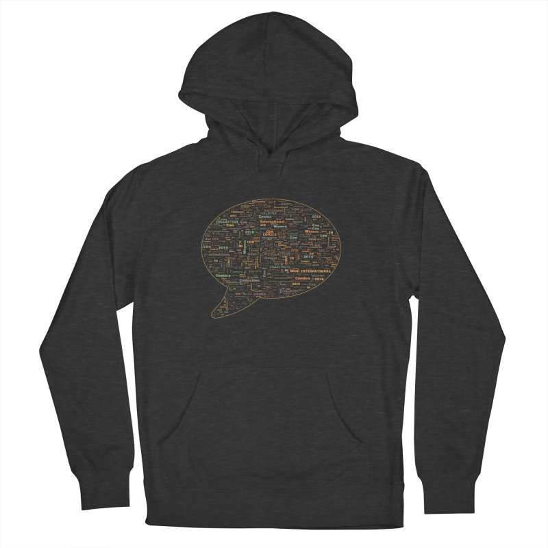 WinC Con 2018 Orange Women's French Terry Pullover Hoody by Women in Comics Collective Artist Shop
