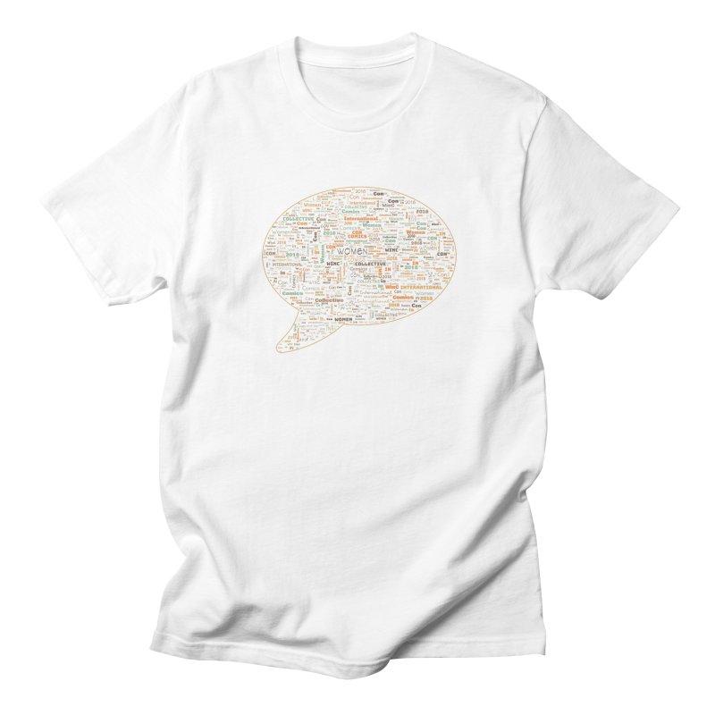 WinC Con 2018 Orange Women's Regular Unisex T-Shirt by Women in Comics Collective Artist Shop